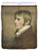 Portrait Of John Constable Aged Twenty Duvet Cover