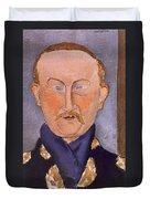 Portrait Of Leon Bakst Duvet Cover