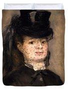 Portrait Of Madame Paul Darras Duvet Cover