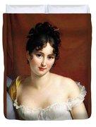 Portrait Of Madame Recamier  Duvet Cover