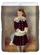 Portrait Of Martha Berard Duvet Cover
