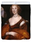 Portrait Of Mary Hill Duvet Cover