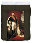 Portrait Of Napoleon IIi Louis Napoleon Bonaparte Duvet Cover
