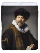 Portrait Of Nicolaes Ruts Duvet Cover