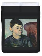 Portrait Of The Artists Son Duvet Cover