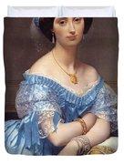 Portrait Of The Princesse De Broglie Duvet Cover