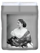 Portrait Woman, C1865 Duvet Cover