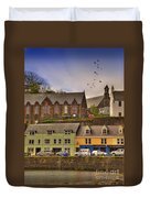 Portree. Isle Of Skye. Scotland Duvet Cover