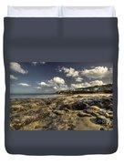 Portscatho Beach  Duvet Cover