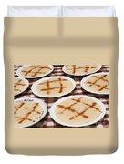 Portuguese Food Duvet Cover