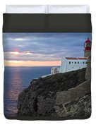 Portuguese Lands End  Duvet Cover