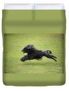 Portuguese Water Dog Duvet Cover