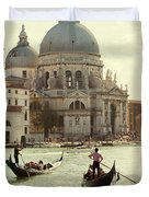 Postcard From Venice Duvet Cover