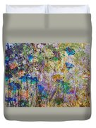 Posies In The Grass Duvet Cover