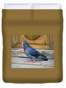 Posing Pigeon  Duvet Cover