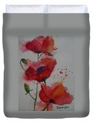 Positively Poppies Duvet Cover