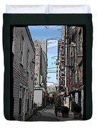 Post Alley 6 Duvet Cover