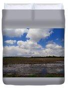 Post Storm Reflections Duvet Cover