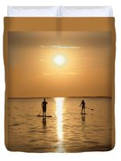 Postcards From Paradise Duvet Cover