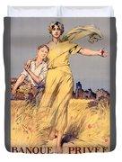Poster Advertising The National Loan Duvet Cover