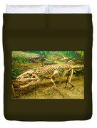 Postosuchus Fossil Duvet Cover