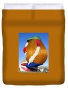 Potato Head Balloon Duvet Cover