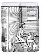 Potter, 1659 Duvet Cover