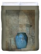 Pottery And Archways II Duvet Cover