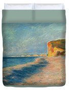 Pourville Near Dieppe Duvet Cover