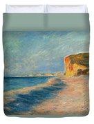 Pourville Near Dieppe Duvet Cover by Claude Monet
