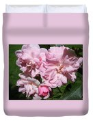 Powder Puff Pink Duvet Cover