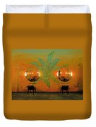 Powder Room Radio City Music Hall Duvet Cover