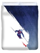 Powder To The People Duvet Cover
