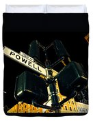 Powell Street Duvet Cover