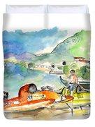 Power Boats World Championship In Barca De Alva 04 Duvet Cover