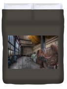 Power Generator Duvet Cover