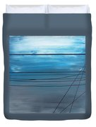 Power Lines 14 Duvet Cover
