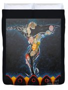 Power Of Man Duvet Cover