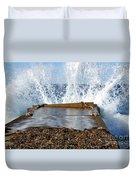 Power Of The Sea Duvet Cover