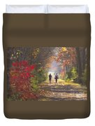 Power Walkers Duvet Cover