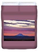 Powerful Sunset Duvet Cover