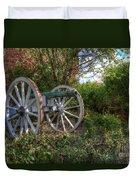 Powis Castle Cannon Duvet Cover