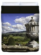 Powis Castle Garden Urn Duvet Cover