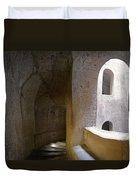 Pozzo San Patrizio/st. Patrick's Well  Duvet Cover by Alan  Socolik