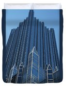 Ppg Place Pittsburgh Duvet Cover