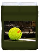 Practice - Tennis Ball By William Patrick And Sharon Cummings Duvet Cover