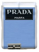 Prada Marfa Texas Duvet Cover by Jack Pumphrey