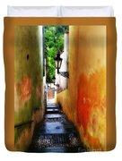 Prague - Street Duvet Cover