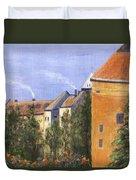 Prague Castle Duvet Cover
