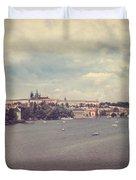Prague Days II Duvet Cover